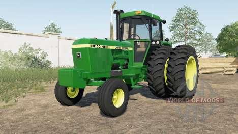 John Deere 4040 для Farming Simulator 2017
