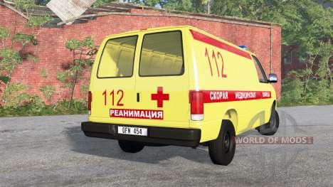 Gavril H-Series Скорая медицинская помощь для BeamNG Drive