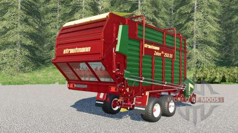 Strautmann Zelon CFS 2501 DO для Farming Simulator 2017