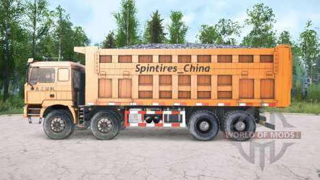 Shacman F3000 four-axle для Spintires MudRunner