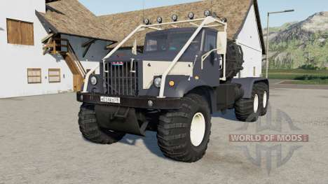 КрАЗ-258Б для Farming Simulator 2017