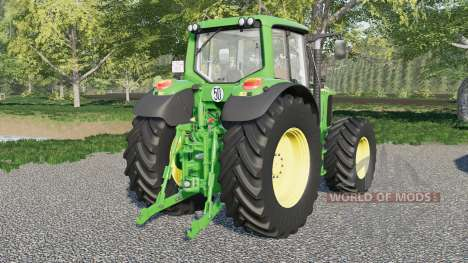 John Deere 6020 для Farming Simulator 2017