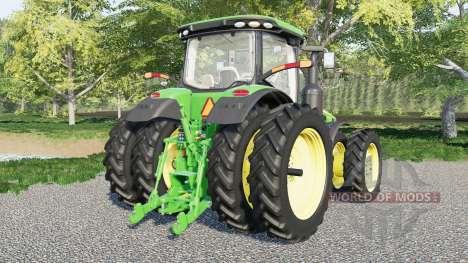 John Deere 8R-series для Farming Simulator 2017