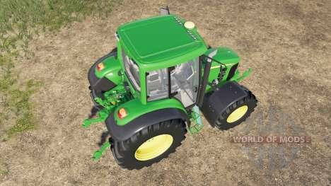 John Deere 6030 Premium для Farming Simulator 2017