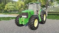 John Deere 7430 & 7530 Premium для Farming Simulator 2017
