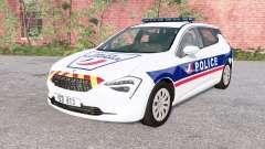 Cherrier FCV National Police v0.2 для BeamNG Drive