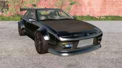 Ibishu 200BX Black on Black v3.0 для BeamNG Drive