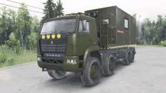 КамАЗ-6560 v1.1 для Spin Tires