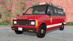 Gavril H-Series Chicago Fire Department v1.2 для BeamNG Drive