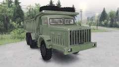 МАЗ-530 зелёный окрас для Spin Tires