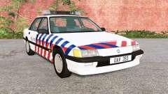 Ibishu Pessima 1988 Dutch Police для BeamNG Drive