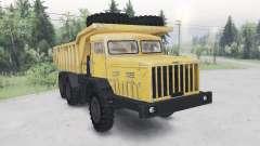 МАЗ-530 жёлтый окрас для Spin Tires
