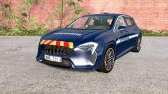 Cherrier FCV Gendarmerie для BeamNG Drive