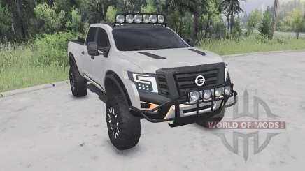 Nissan Titan Warrior concept Ձ016 для Spin Tires