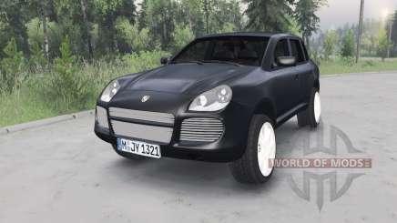 Porsche Cayenne Turbo (955) 2003 для Spin Tires