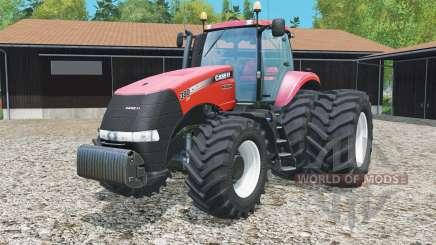 Case IH Magnum 380 CVT rear twin wheels для Farming Simulator 2015