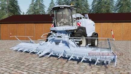 Krone BiG Ӽ 1100 для Farming Simulator 2017