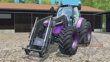 Deutz-Fahr 7250 TTV Agrotron front loader для Farming Simulator 2015