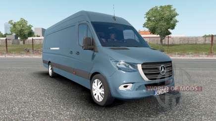 Mercedes-Benz Sprinter VS30 Van 316 CDI 2019 для Euro Truck Simulator 2
