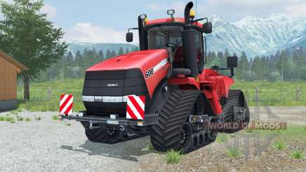 Case IH Steiger 600 Quadtrac round lighting для Farming Simulator 2013