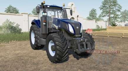New Holland T8.320〡T8.380〡T৪.435 для Farming Simulator 2017