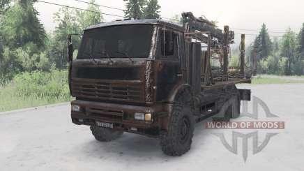 КамАЗ-652Ձ для Spin Tires