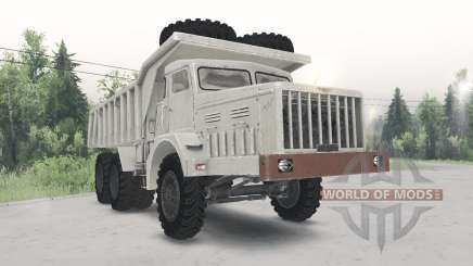 МАЗ-530 светло-бежевый окрас для Spin Tires