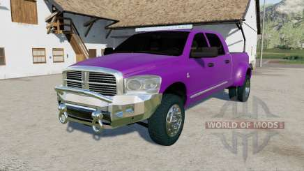 Dodge Ram 3500 Mega Cab 2006 для Farming Simulator 2017