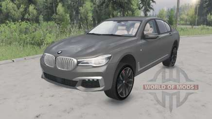 BMW M760i xDrive (G11) 2017 lifted для Spin Tires