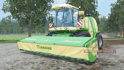 Krone BiG X 1100 change capacity для Farming Simulator 2015