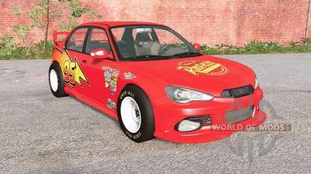 Hirochi Sunburst Lightning McQueen для BeamNG Drive