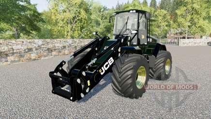 JCB 435 S for heavy loading work для Farming Simulator 2017