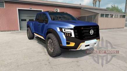 Nissan Titan Warrior concept 2016 для American Truck Simulator