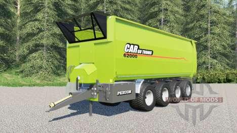Peecon Cargo 62000 для Farming Simulator 2017
