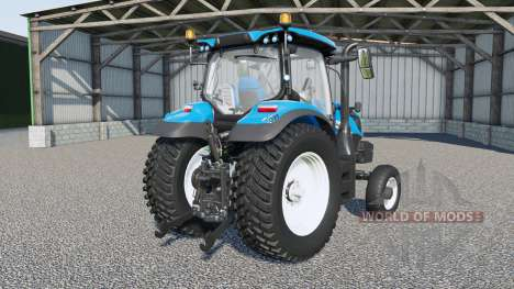 New Holland T6-series для Farming Simulator 2017