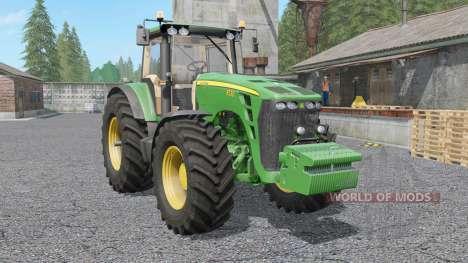 John Deere 8030-series для Farming Simulator 2017