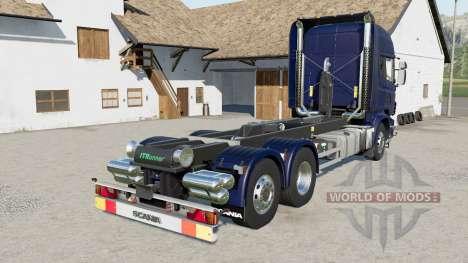 Scania R730 hooklift для Farming Simulator 2017