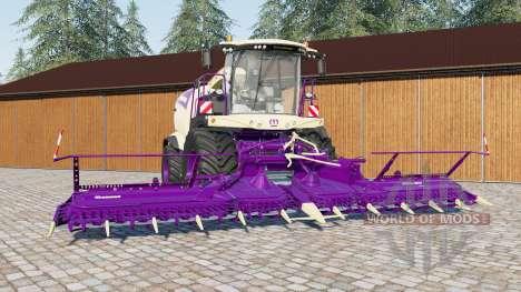 Krone BiG X 1180 для Farming Simulator 2017
