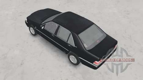 Mercedes-Benz S600 (W140) 1996 для Spin Tires