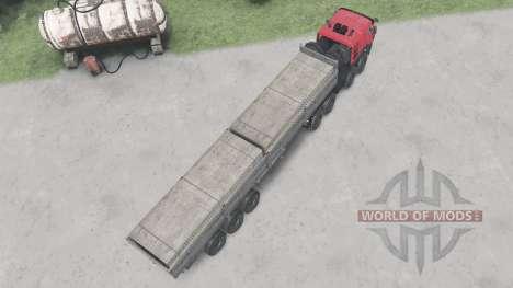 КамАЗ-65228 для Spin Tires