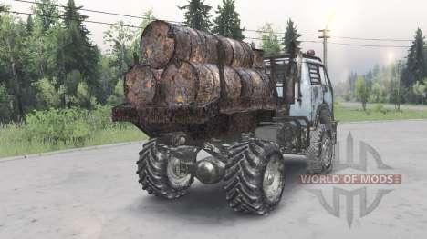 МАЗ-5429 v1.2 для Spin Tires
