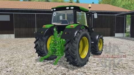 John Deere 6R-series для Farming Simulator 2015