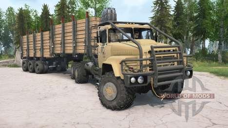 КрАЗ-260В для Spintires MudRunner
