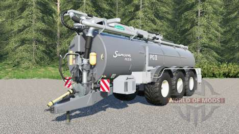 Samson PGII 35 для Farming Simulator 2017