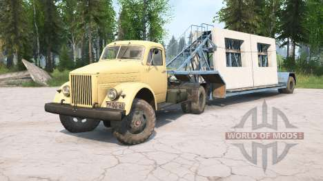 ГАЗ-51 для Spintires MudRunner