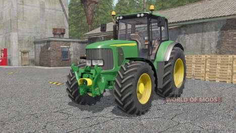 John Deere 6920S для Farming Simulator 2017