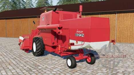Bizon Super Z056 для Farming Simulator 2017