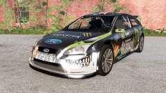 Ford Focus RS WRC (DA3) 2010 для BeamNG Drive