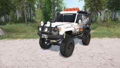 Toyota Land Cruiser Hard Top (J71) LX lifted для MudRunner