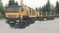 КамАЗ-652Ձ8 для Spin Tires